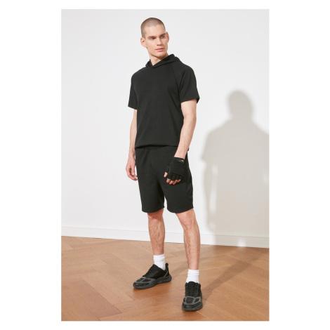 Trendyol Black Men's Regular Fit Shorts & Bermuda