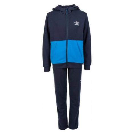 Umbro PETTER tmavo modrá - Chlapčenská tepláková súprava