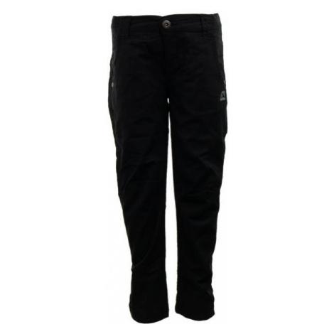 ALPINE PRO LIGHTO čierna - Detské nohavice