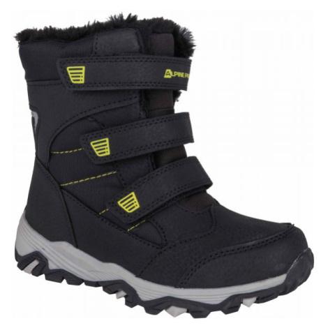 ALPINE PRO KURTO biela - Detská zimná obuv