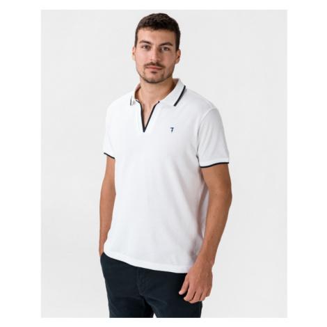 Trussardi Jeans Polo tričko Biela