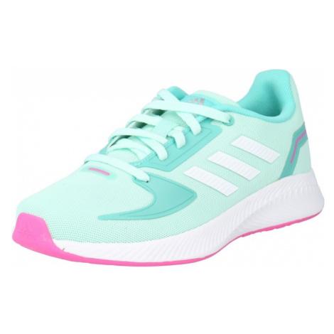 ADIDAS PERFORMANCE Športová obuv 'Runfalcon 2.0'  tyrkysová / biela / ružová