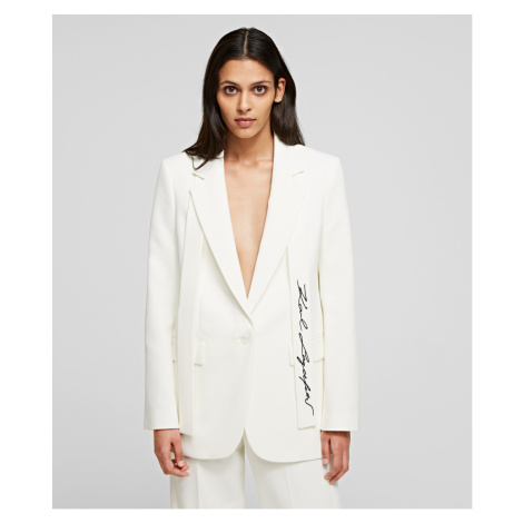 Sako Karl Lagerfeld Tailored Blazer