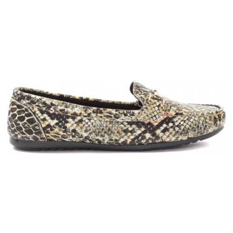 Trendyol Orange Snake Patterned Women Loafer Shoes