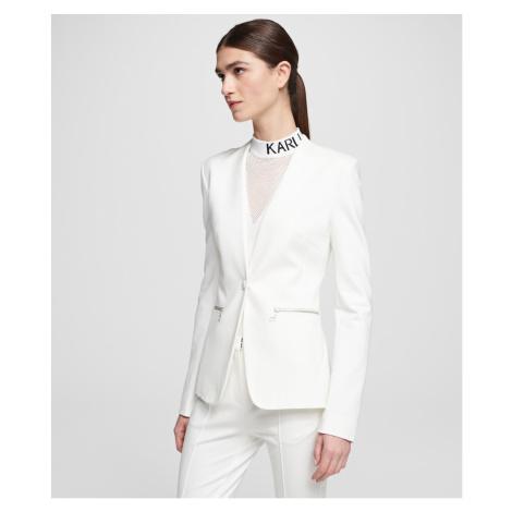 Sako Karl Lagerfeld Punto Jacket W/ Logo Tape