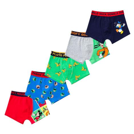 Chlapčenské boxerky Disney 5 Pack Character