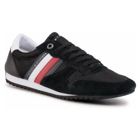 Sneakersy TOMMY HILFIGER - Essential Mesh Runner FM0FM02666 Black BDS