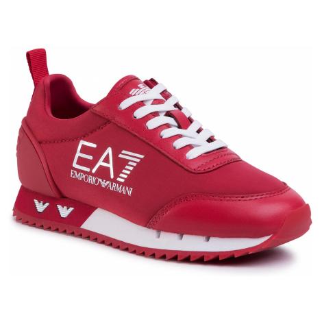 Sneakersy EA7 EMPORIO ARMANI - XSX004 XOT08 M488 Tango Red/White