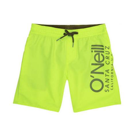 O'Neill PB CALI SHORTS žltá - Chlapčenské šortky do vody