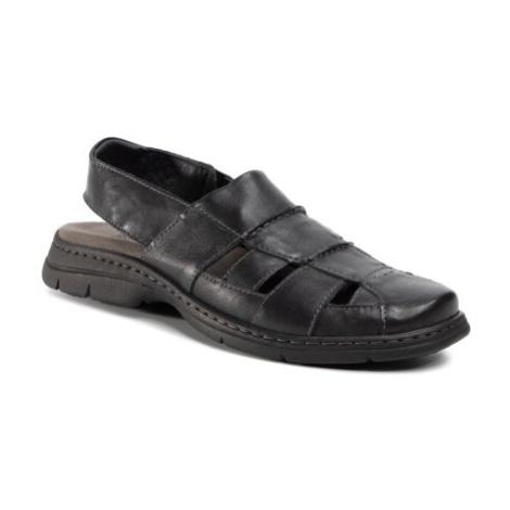 Sandále GO SOFT MI20-BONDY-01 Prírodná koža(useň) - Lícova
