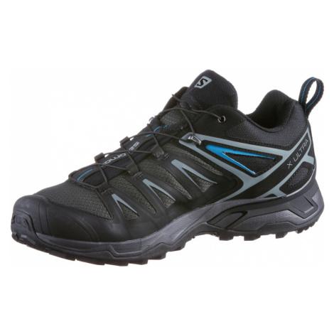 SALOMON Outdoorové gumáky 'X Ultra 3'  čierna / modrá / sivá