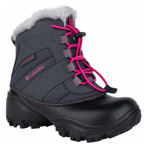 Columbia CHILDRENS ROPE TOW - Dievčenská zimná obuv
