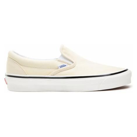 Vans Ua Classic Slip-On Anaheim Factory Og Wht-7.5 biele VN0A3JEXQWP1-7.5