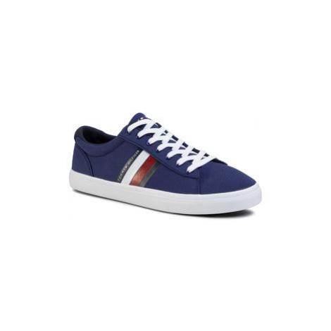 Tommy Hilfiger Tenisky Essential Stripes Detail Sneaker FM0FM02685 Tmavomodrá