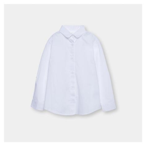 Sinsay - Klasická bavlnená košeľa - Biela