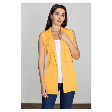 Figl Woman's Vest M560 Yellow