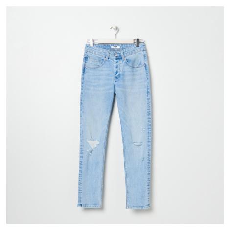 Sinsay - Roztrhané džínsy - Modrá