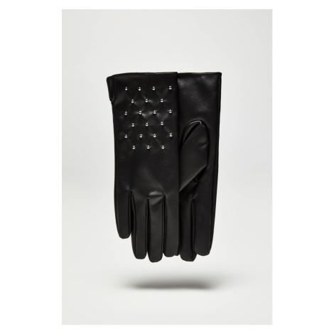 Moodo čierne rukavice