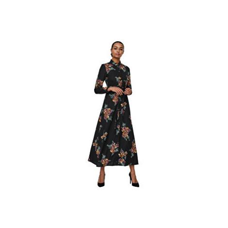 Vero Moda Dámske šaty VMNEWALLIE MAXI Black ALLIE