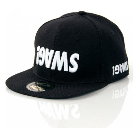 GangstaGroup Basic Swag! Logo Full Cap Black - Veľkosť:7–1/4
