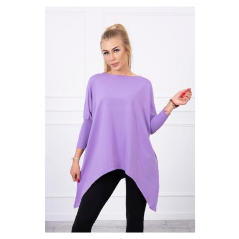 Blouse oversize purple