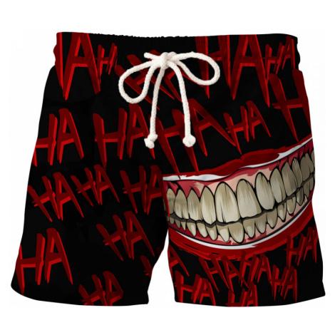 Hahaha BLACK Swim Shorts
