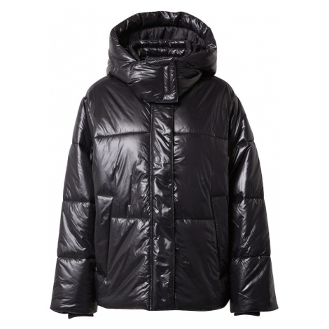 EDC BY ESPRIT Zimná bunda 'Shine'  čierna