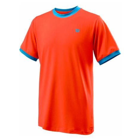 Detské tričko Wilson Competition Crew B Orange
