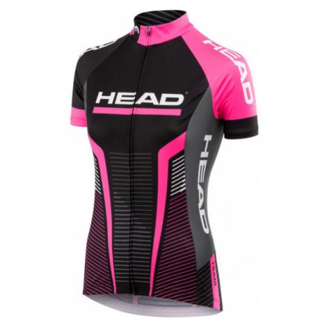 Head LADY JERSEY TEAM čierna - Dámsky cyklistický dres