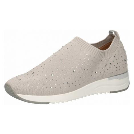 CAPRICE Slip-on obuv  béžová / biela