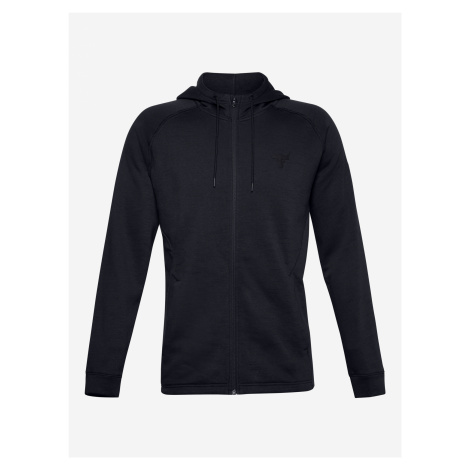 Project Rock CC Fleece Mikina Under Armour Čierna