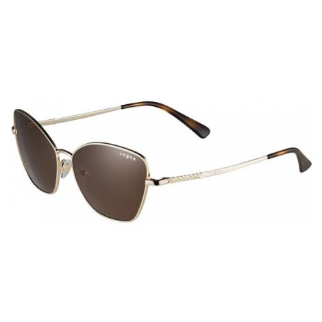 VOGUE Eyewear Slnečné okuliare '0VO4197S'  zlatá / hnedá