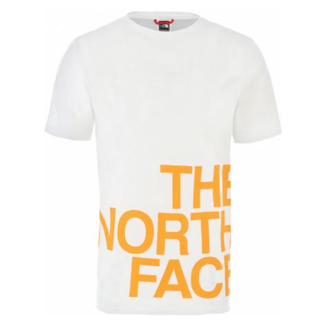 The North Face M Ss Graphic Flow 1 - Eu Tnf White/Flame Orange-XL biele NF0A4926P9V-XL