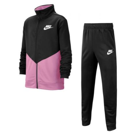 Nike NSW CORE TRK STE G čierna - Dievčenská súprava