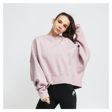 Nike W NSW Crew Fleece Trend svetlofialová