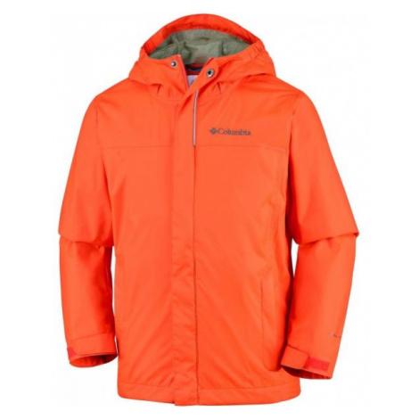 Columbia WATERTIGHT JACKET oranžová - Detská nepremokavá bunda