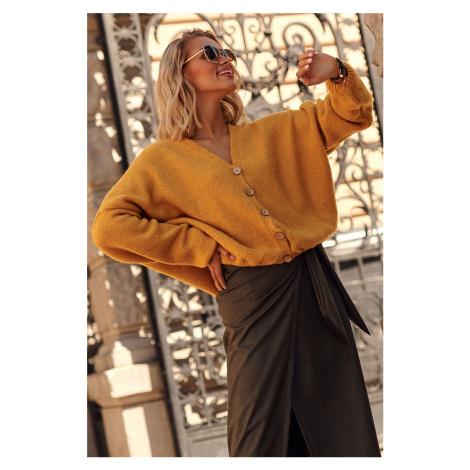 Žltý sveter S110 Makadamia
