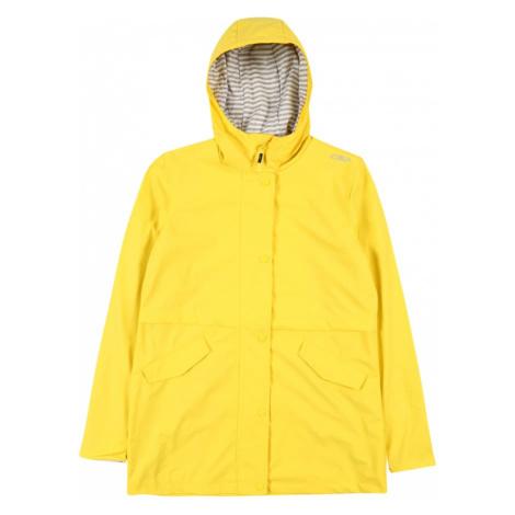CMP Outdoorová bunda  žltá