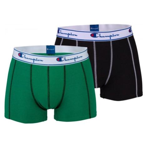 Champion BOXER CHAMPION X3 zelená - Pánske boxerky
