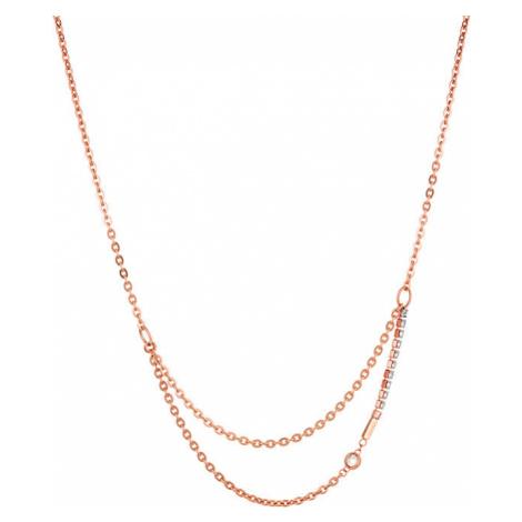 Liu.Jo Elegantný oceľový náhrdelník LJ1317