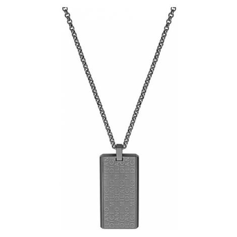 Dici Milano Oceľový náhrdelník pre mužov DCNL50160200