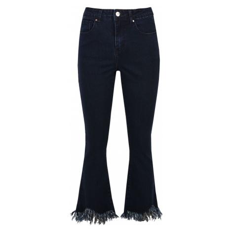 čierne dámske džínsy bootcut