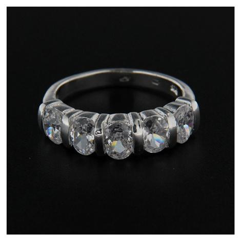 Strieborný prsteň 14258