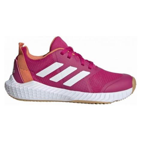 adidas FORTAGYM K ružová - Detská halová obuv
