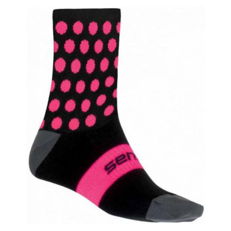 Sensor DOTS ružová - Ponožky