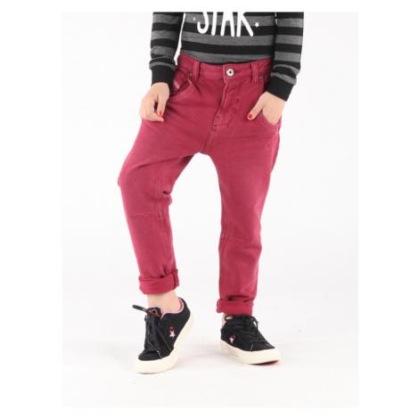Džínsy Diesel Fayza J-A S Pantaloni Červená