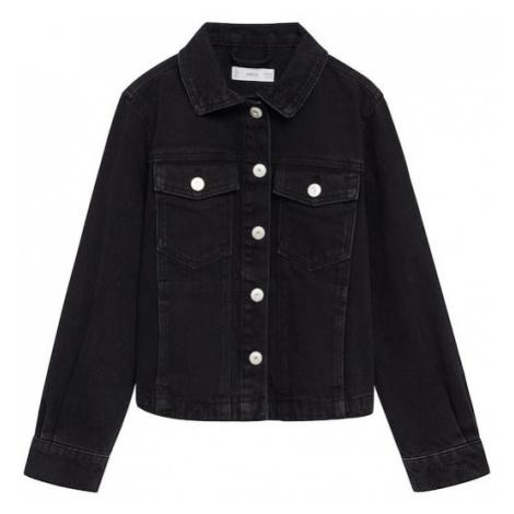 MANGO KIDS Prechodná bunda 'Sandy'  čierna