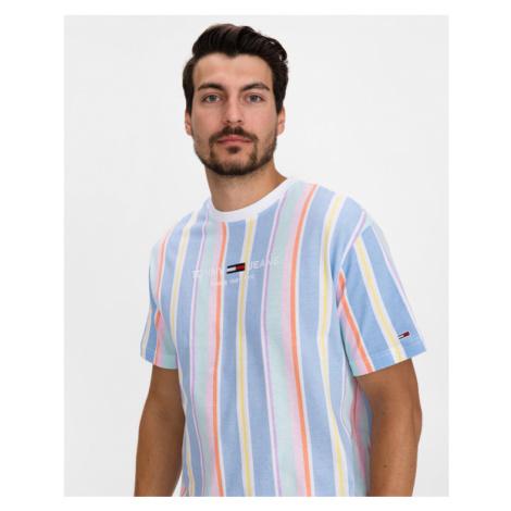 Tommy Jeans Pastel Stripe Tričko Viacfarebná Tommy Hilfiger