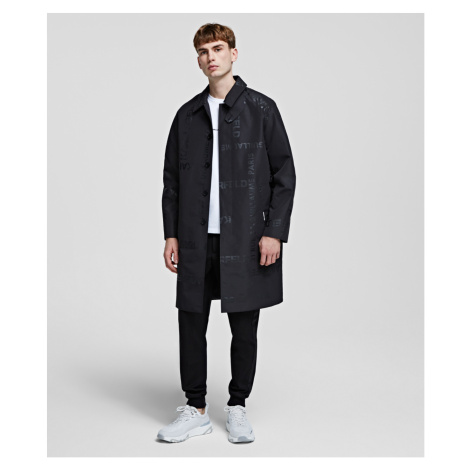 Kabát Karl Lagerfeld Unisex Trench Coat