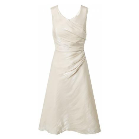 Vera Mont Kokteilové šaty  béžová / krémová